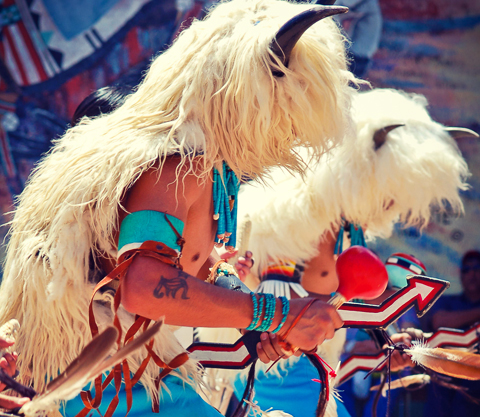 Cellicion Traditional Zuni Dancers