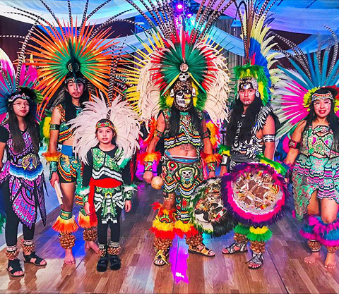 In Tlanextli Tlacopan - Aztec Fire Dancers